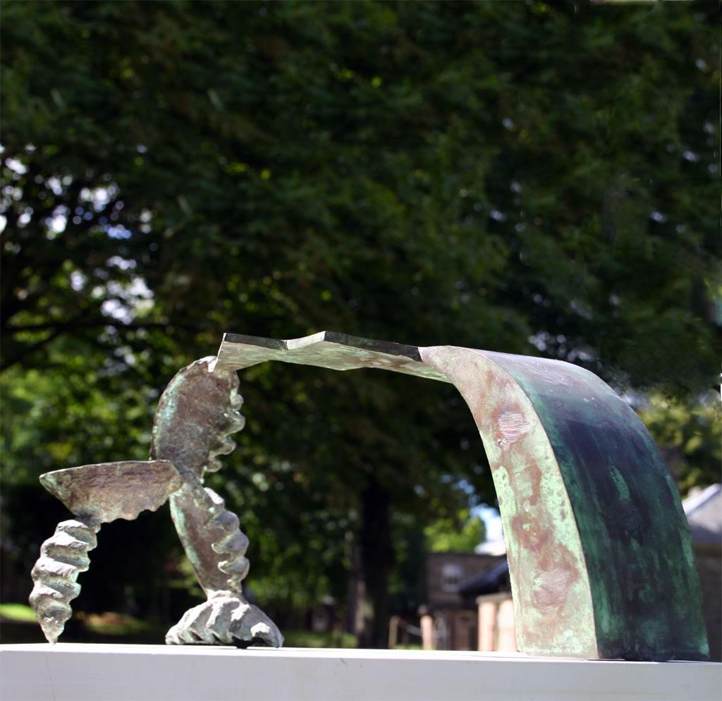 Bridge (figurative sculpture) by sculptor Ian Campbell-Briggs