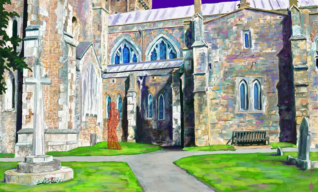 Design for Ottery St Mary Church - 2D drawing