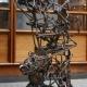 Völundarhús (abstract sculpture) by sculptor Ian Campbell-Briggs