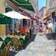 Bar Le Phare, Villefranche - 2D drawing